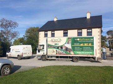 Ireland Insulation Truck